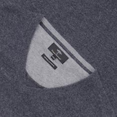 FYNCH HATTON V-Pullover anthrazit