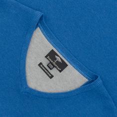 FYNCH-HATTON V-Pullover blau
