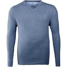 FYNCH HATTON V-Pullover blau