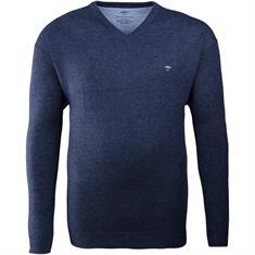 FYNCH HATTON V-Pullover dunkelblau