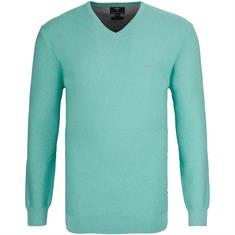 FYNCH-HATTON V-Pullover grün
