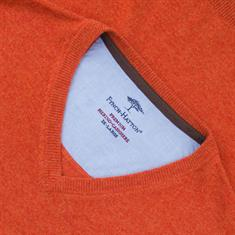 FYNCH-HATTON V-Pullover orange