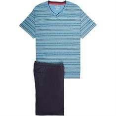 GÖTZBURG halbarm Schlafanzug hellblau