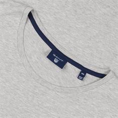 GANT T-Shirt hellgrau