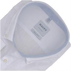 HAUPT halbarm Freizeithemd weiß
