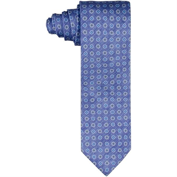J. PLOENES Krawatte mittelblau