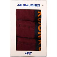 JACK & JONES Dreierpack-Pants bordeaux