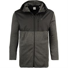 JACK & JONES Fleecejacke grau