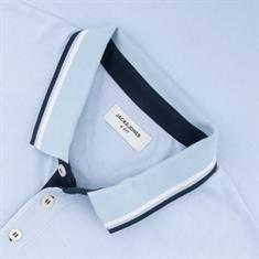 JACK & JONES Poloshirt hellblau