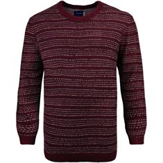 JACK & JONES Pullover bordeaux