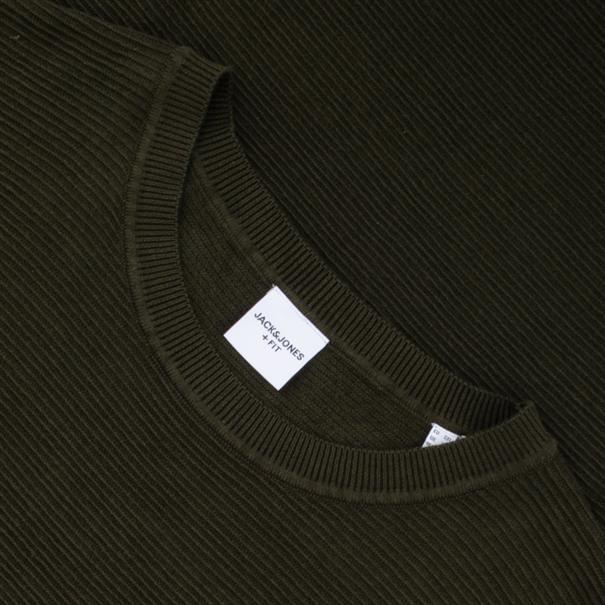 JACK&JONES Pullover dunkelgrün