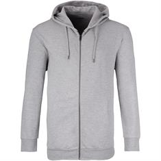 JACK & JONES Sweatjacke grau