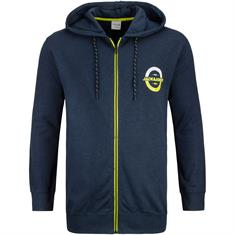 JACK & JONES Sweatjacke marine