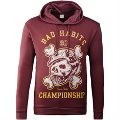 JACK & JONES Sweatshirt bordeaux