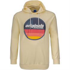 JACK & JONES Sweatshirt gelb