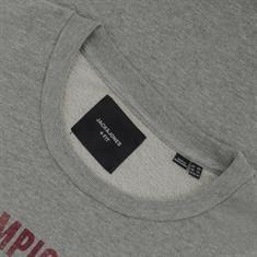 JACK & JONES Sweatshirt grau-meliert