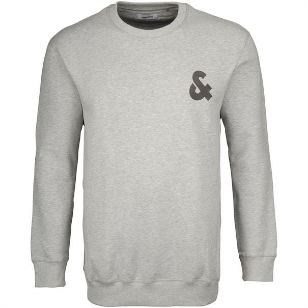 JACK & JONES Sweatshirt grau