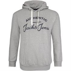 JACK & JONES Sweatshirt hellgrau
