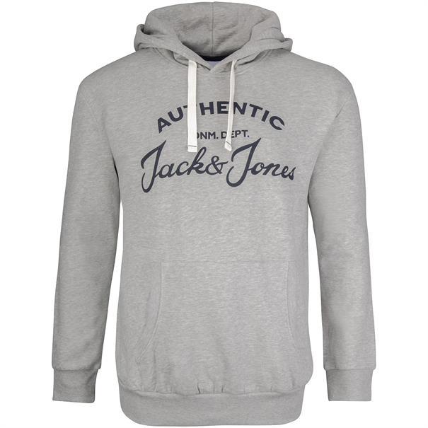 JACK & JONES Sweatshirt hellgrau