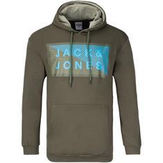 JACK & JONES Sweatshirt oliv