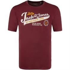 JACK & JONES T-Shirt beere