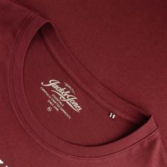 JACK & JONES T-Shirt bordeaux