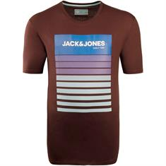 JACK & JONES T-Shirt bordeaux