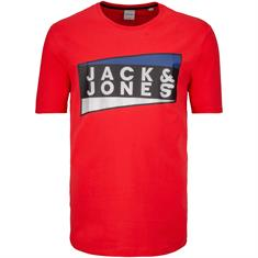 JACK & JONES T-Shirt chinese red