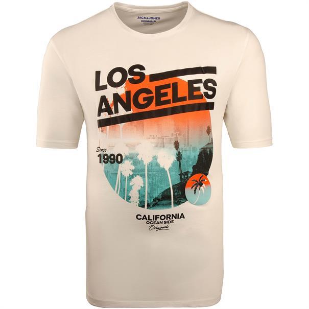 JACK & JONES T-Shirt creme