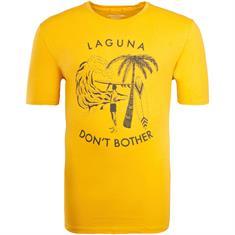 JACK & JONES T-Shirt gelb