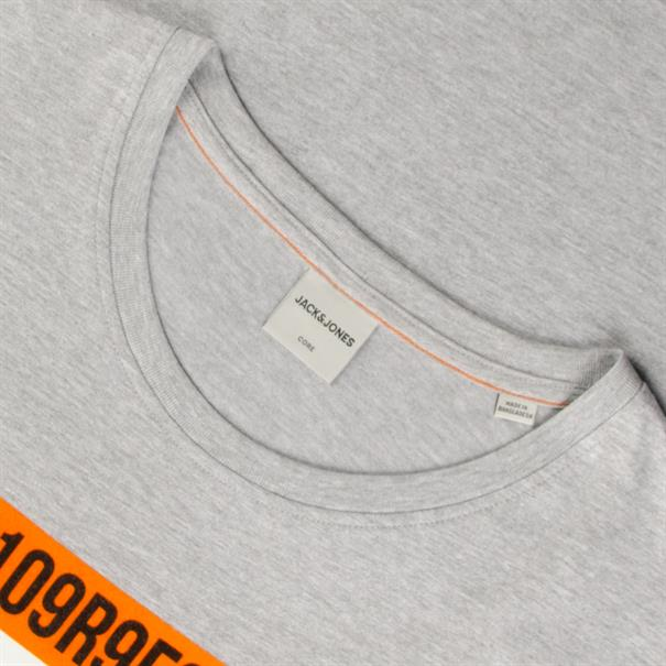 JACK & JONES T-Shirt grau-meliert