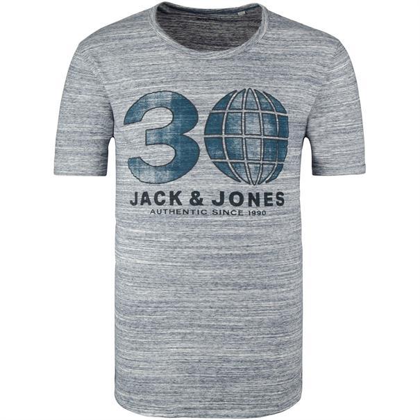 JACK & JONES T-Shirt grau-meliert