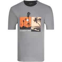 JACK & JONES T-Shirt grau