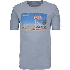 JACK & JONES T-Shirt hellblau