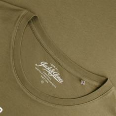 JACK & JONES T-Shirt oliv