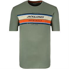 JACK & JONES T-Shirt oliv