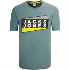 JACK & JONES T-Shirt petrol