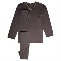 JADO Schlafanzug anthrazit