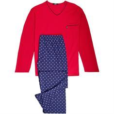 JADO Schlafanzug rot