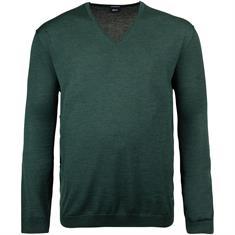 JOOP V-Pullover dunkelgrün