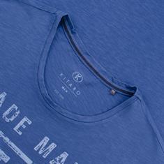 KITARO Muskelshirt blau