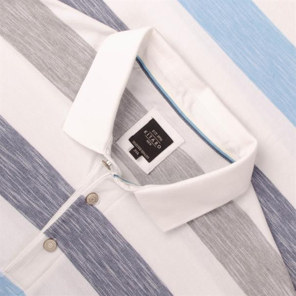 KITARO Poloshirt creme