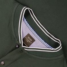 KITARO Poloshirt dunkelgrün