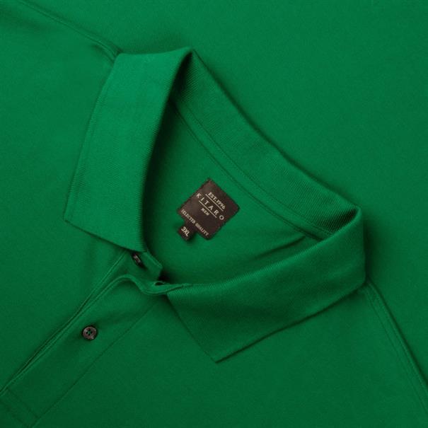 KITARO Poloshirt grün