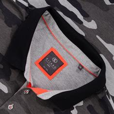 KITARO Poloshirt grau