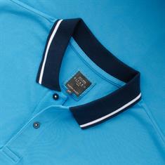 KITARO Poloshirt hellblau