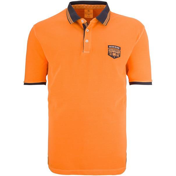 KITARO Poloshirt orange