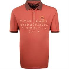 KITARO Poloshirt rot