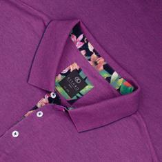 KITARO Poloshirt violett