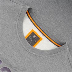 KITARO Pullover grau-meliert